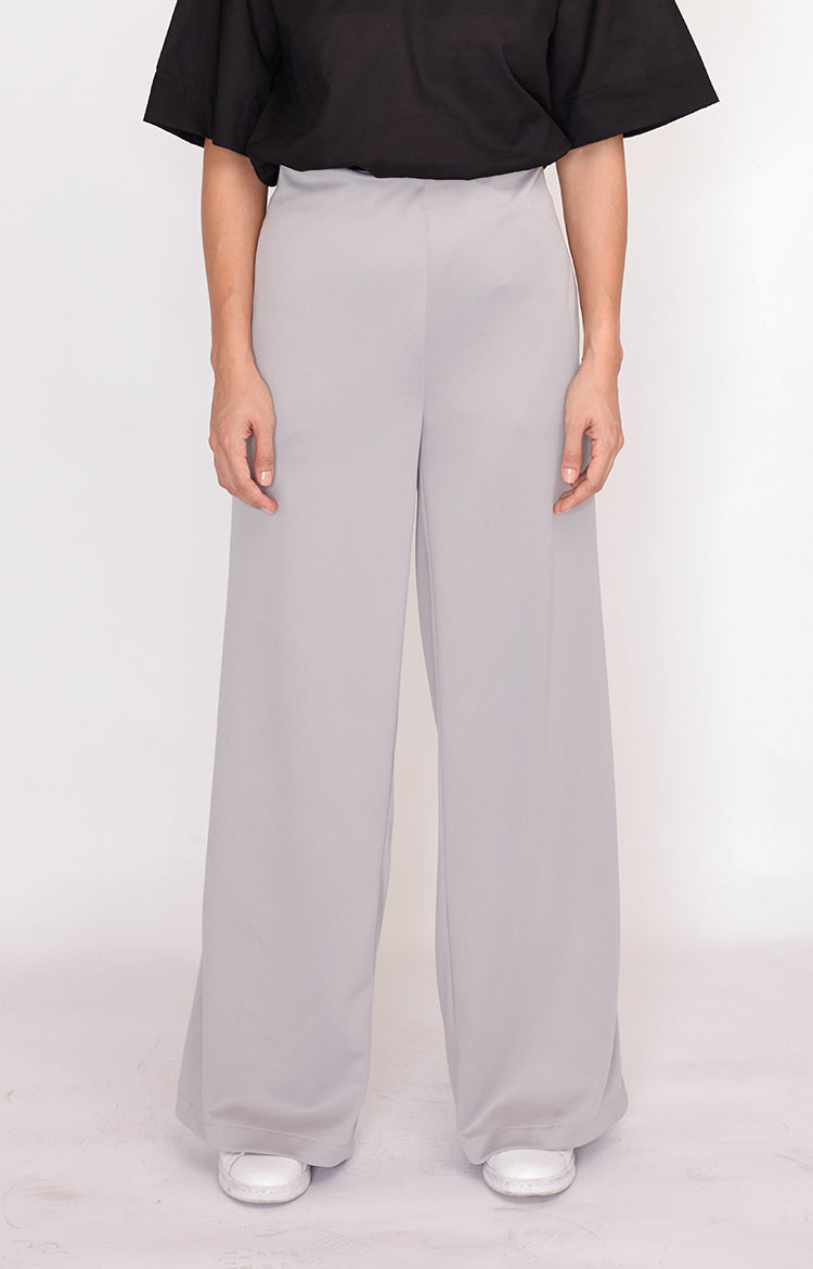 Wide Leg Amy-Grey