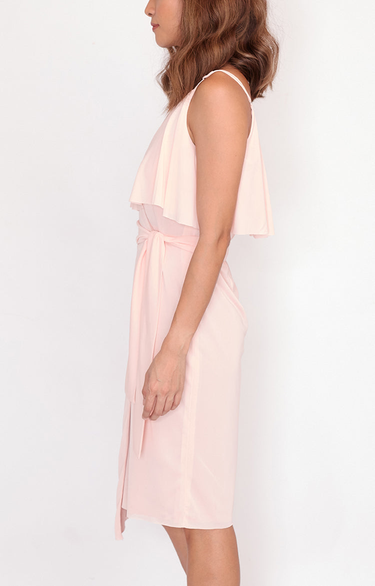 Wrap Dress Jackie-Blush