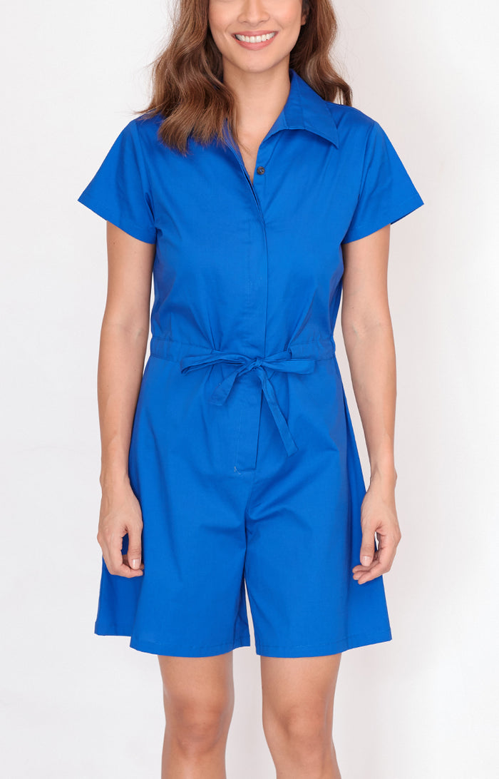 Romper Justine-Royal Blue