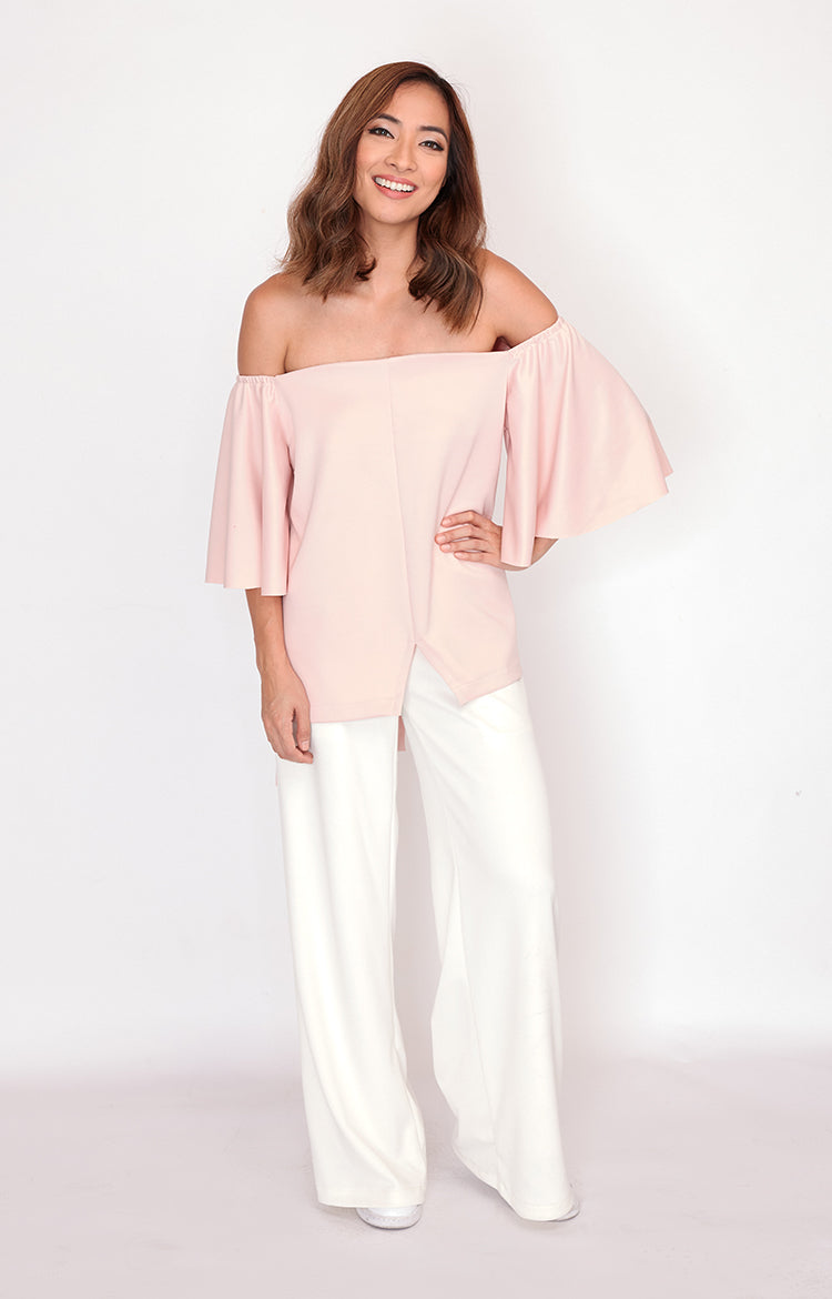 Off-Shoulder Lori-Blush
