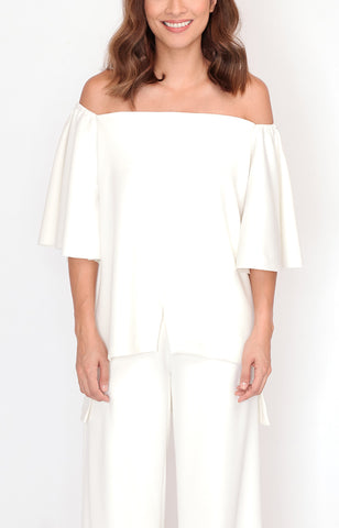 Off-Shoulder Lori-White
