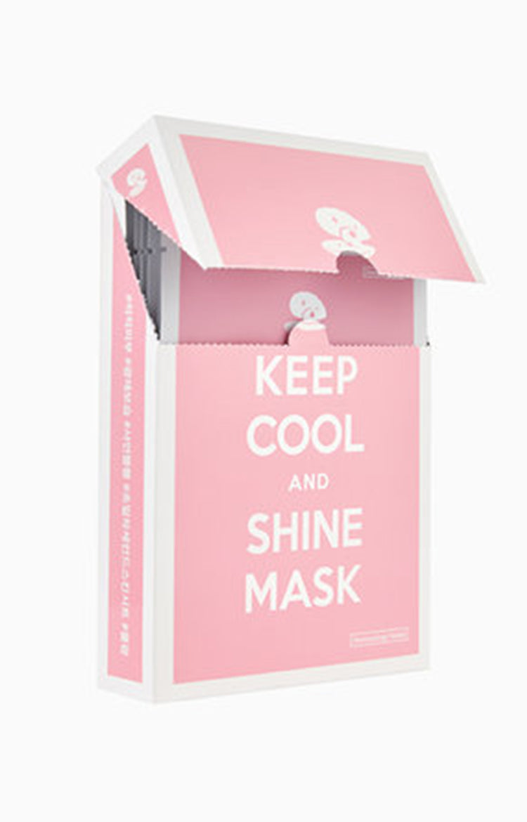 Keep Cool And Shine Mask Box