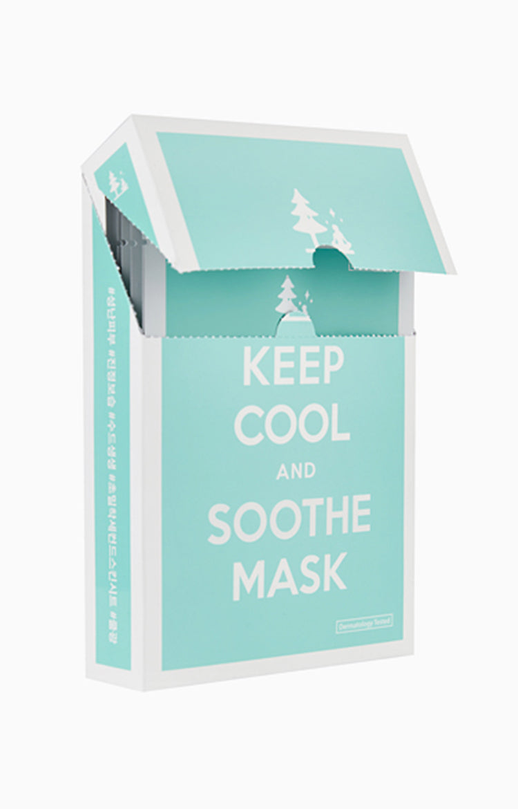 Keep Cool And Soothe Mask Box