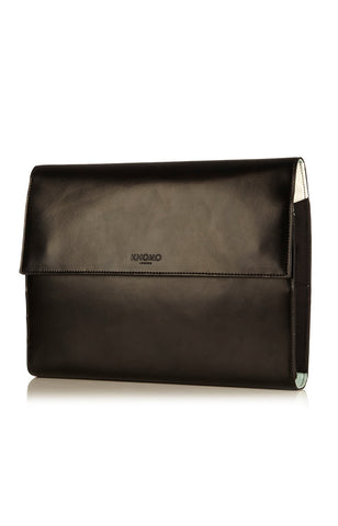 Knomad Air Soho Leather Portable Organiser 10 - Black