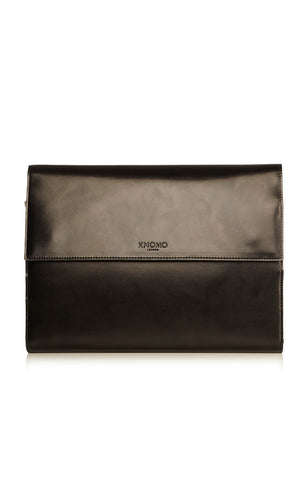 Knomo Knomad Air Soho Leather Portable Organiser 8 - Black