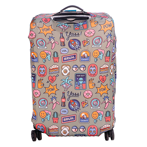 POP Stickers Luggage Cover