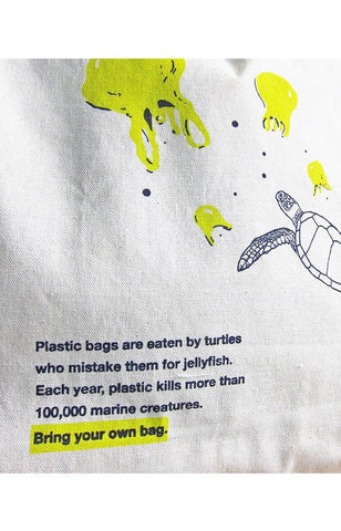 Marine Grocery Bag - Sea Turtles