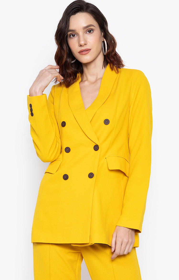 George Blazer Yellow