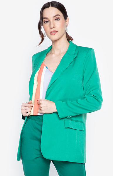 Carol Workwear Jacket Green