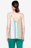 Julie Multi Colored Sleeveless Top