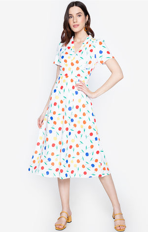 Nilfa printed slimfit summer wear dress