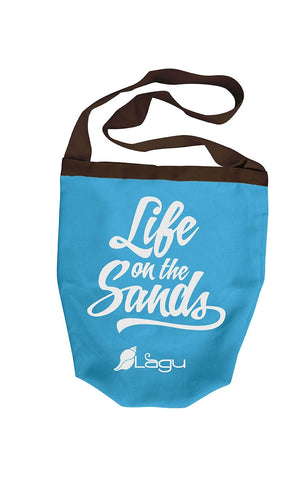 Life on The Sands Beach Bag - Celeste