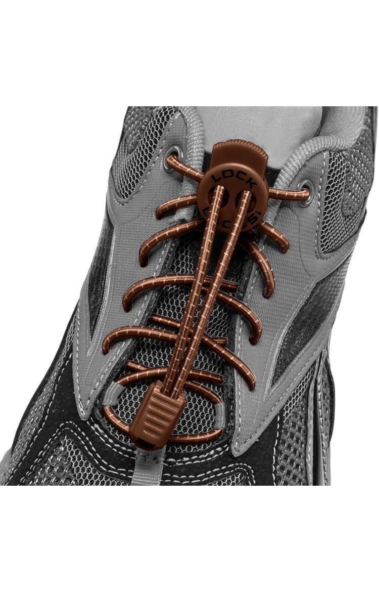 Lock Laces - Brown