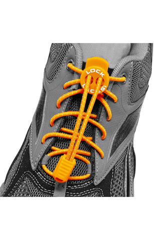 Lock Laces - Orange