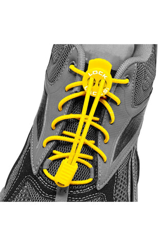 Lock Laces - Yellow