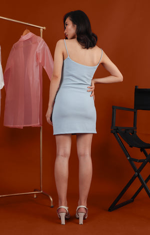 A dress? Says who?  (Dress in Powder Blue)
