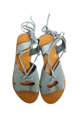 Meta Naomi Sandals - Light Blue