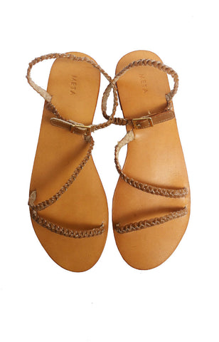 Meta Norah Sandals - Tan