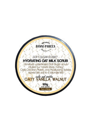 Hydrating Oat Milk Scrub - Oaty Vanilla Walnut Travel Size