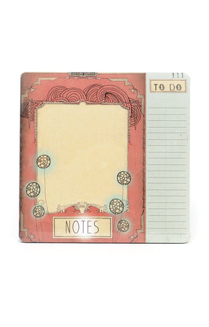 Vintage Art Designer Notepad Set