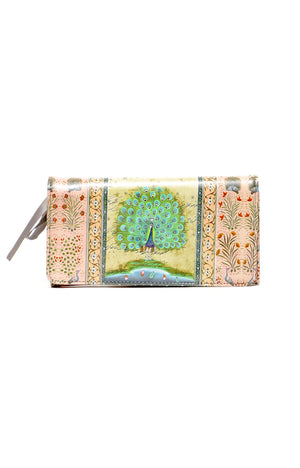 Peacock Long Wallet
