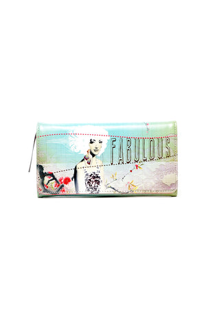 Fabulous Bird Long Wallet
