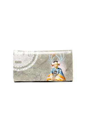 Oriental Lady Long Wallet