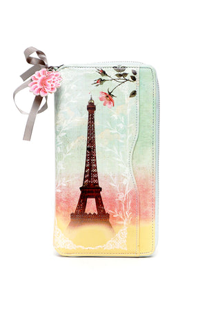 Paris Travel Clutch