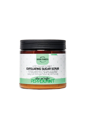 Exfoliating Sugar Scrub - Peppermint Deluxe Size