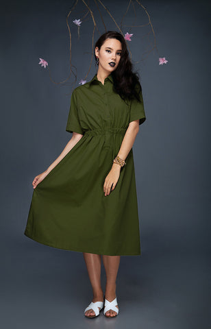 SOS Dress-Green