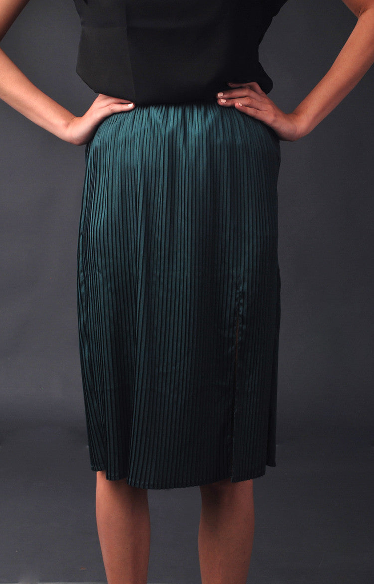 Holiday Party Skirt- Evergreen