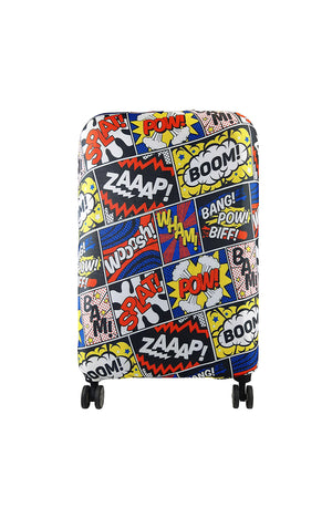 Smoothskies - Luggage Cover - Comic