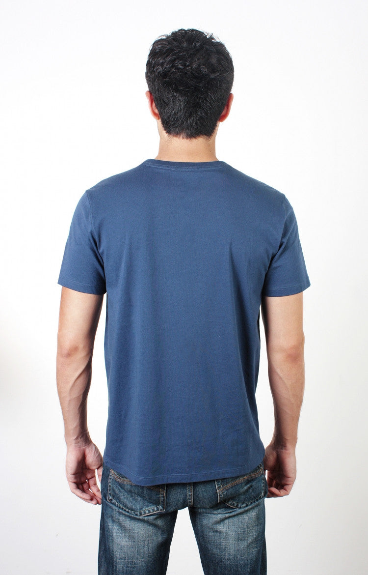 Men's S/S Crewneck Tee - Washed Navy