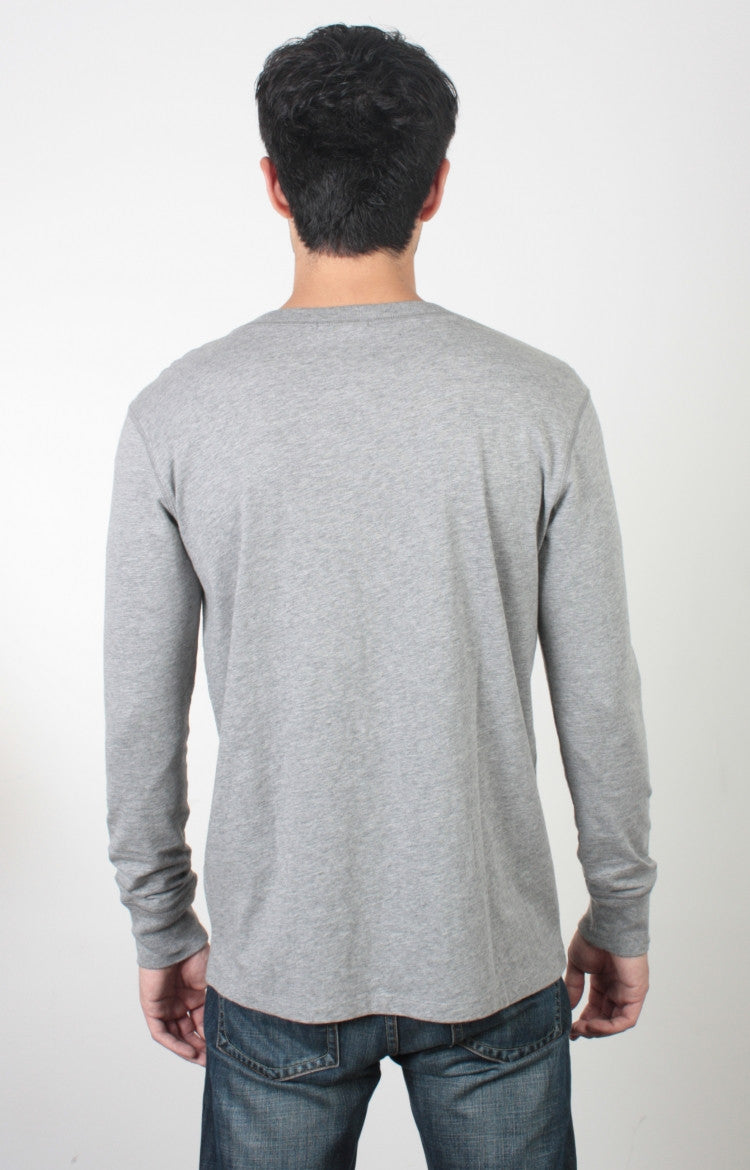 Men's L/S Henley - Surplus
