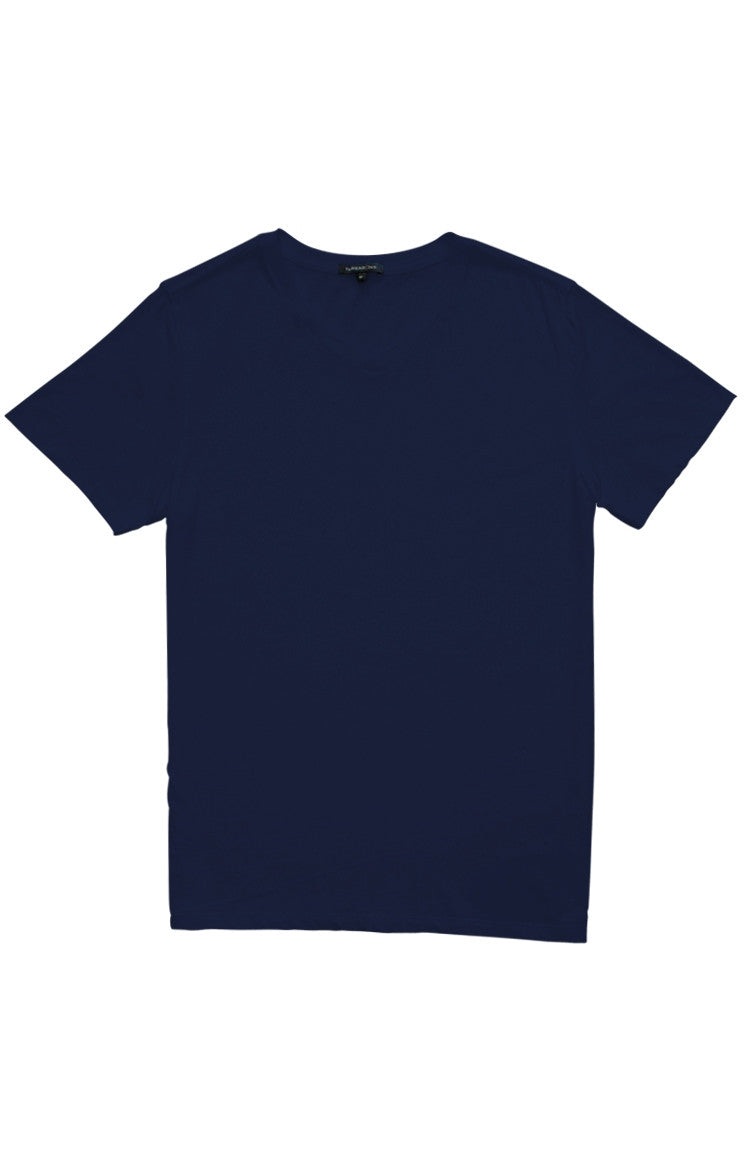 Thread 365 Men's S/S V-Neck Tee - True Navy