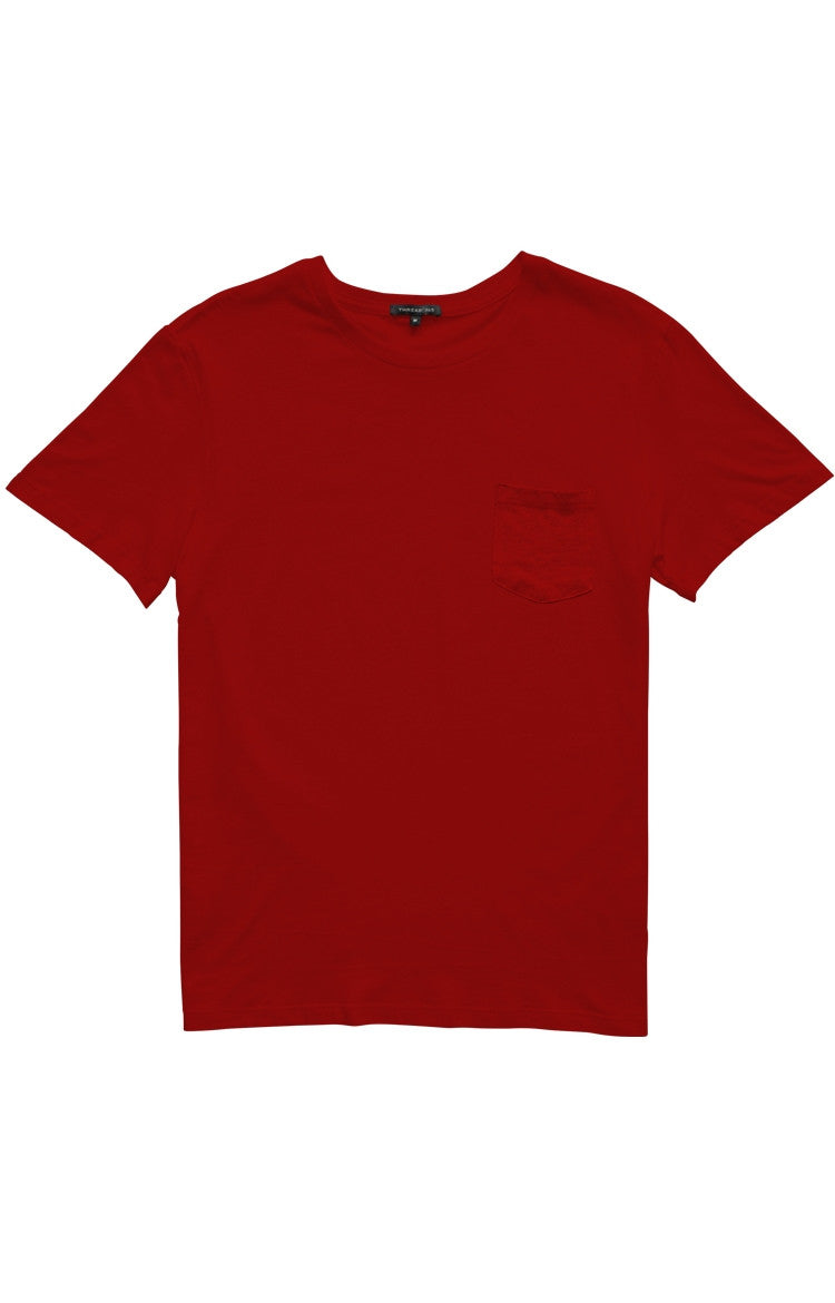 Thread 365 Men's S/S Pocket Crewneck Tee - Red