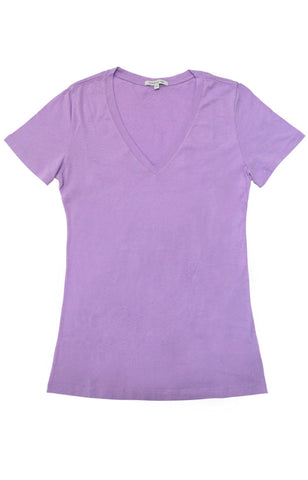 Thread 365 Women's S/S V-Neck Tee - Lilac