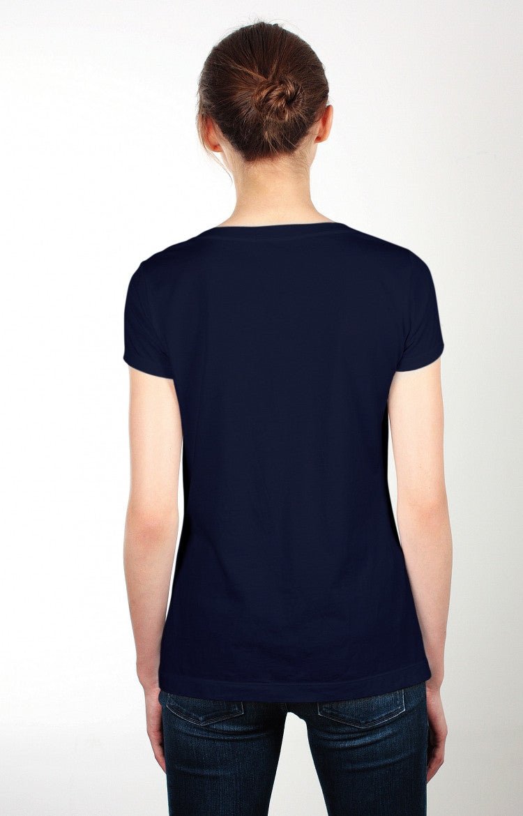 Women's S/S Scoopneck Tee - Heather Grey