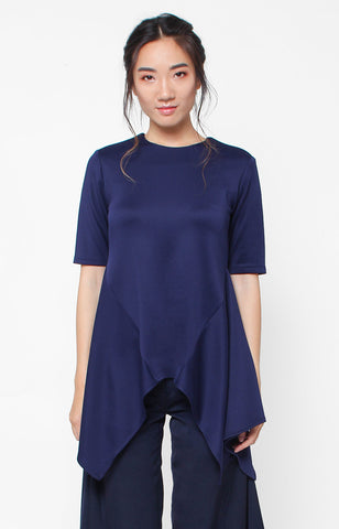 Arabella Top- Navy