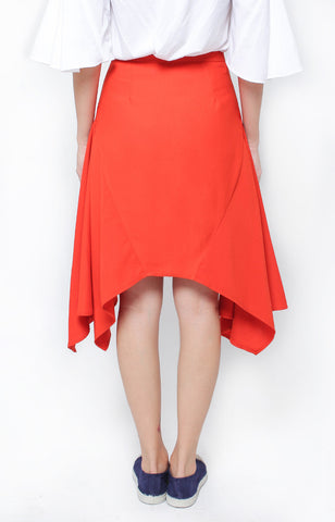 Tatiana Skirt- Rust