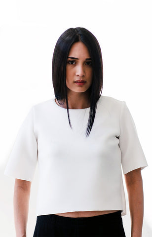 UNDO Clothing Vedetta Top in White