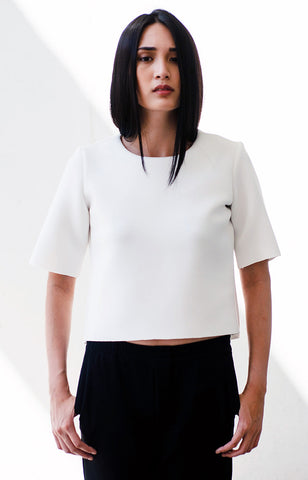 Vedetta Top in White