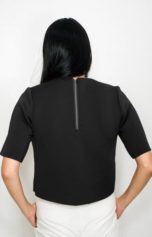 Vedetta Top in Black