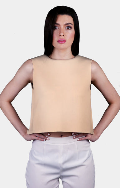 Cara Top in Nude