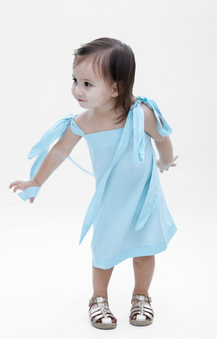 Kids Isabella Dress- Mint