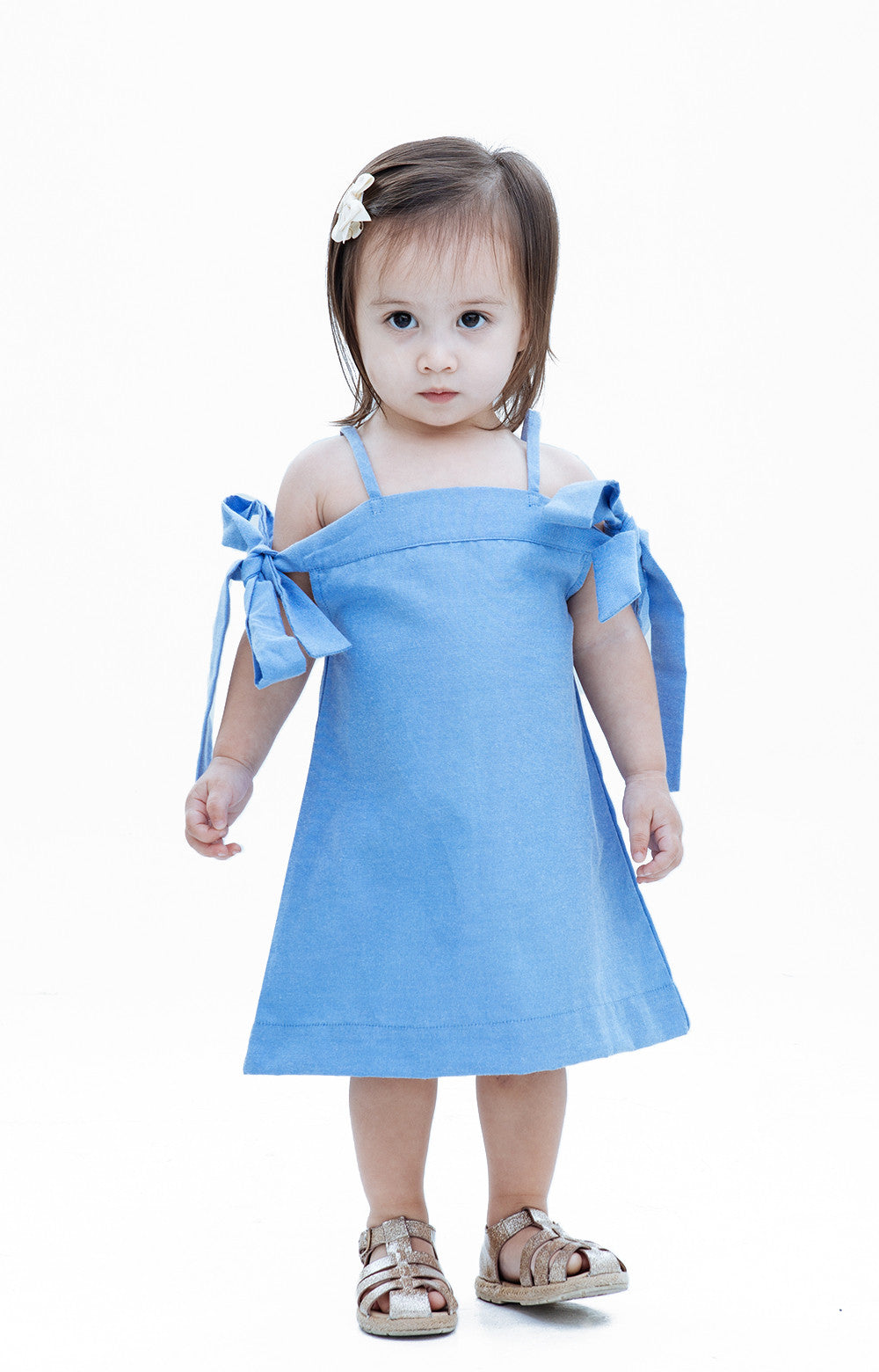 Kids Daniella Dress- Dark Blue