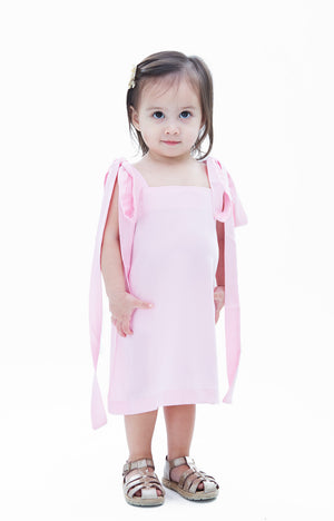 Kids Isabella Dress- Pink