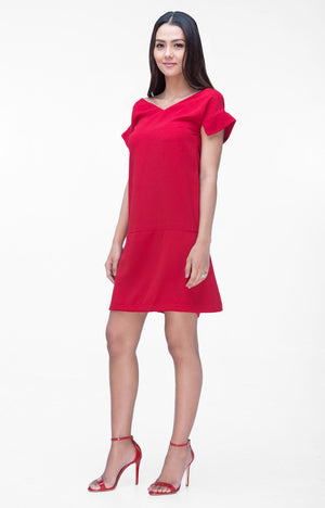 Alice Dress- Red