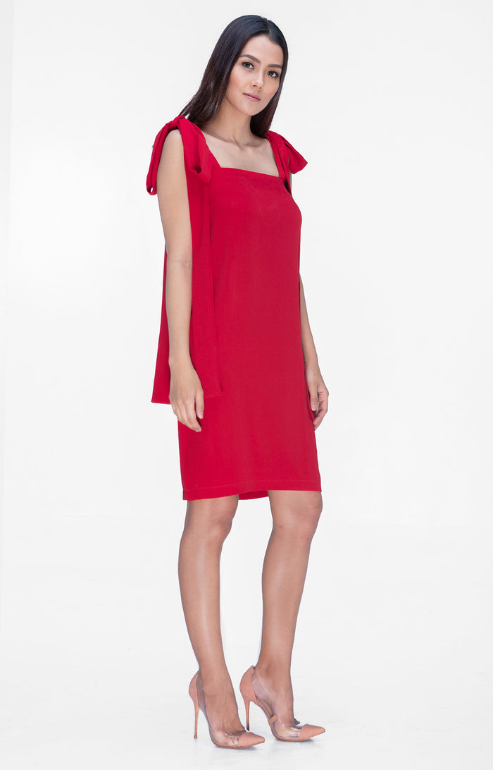Isabella Dress- Red