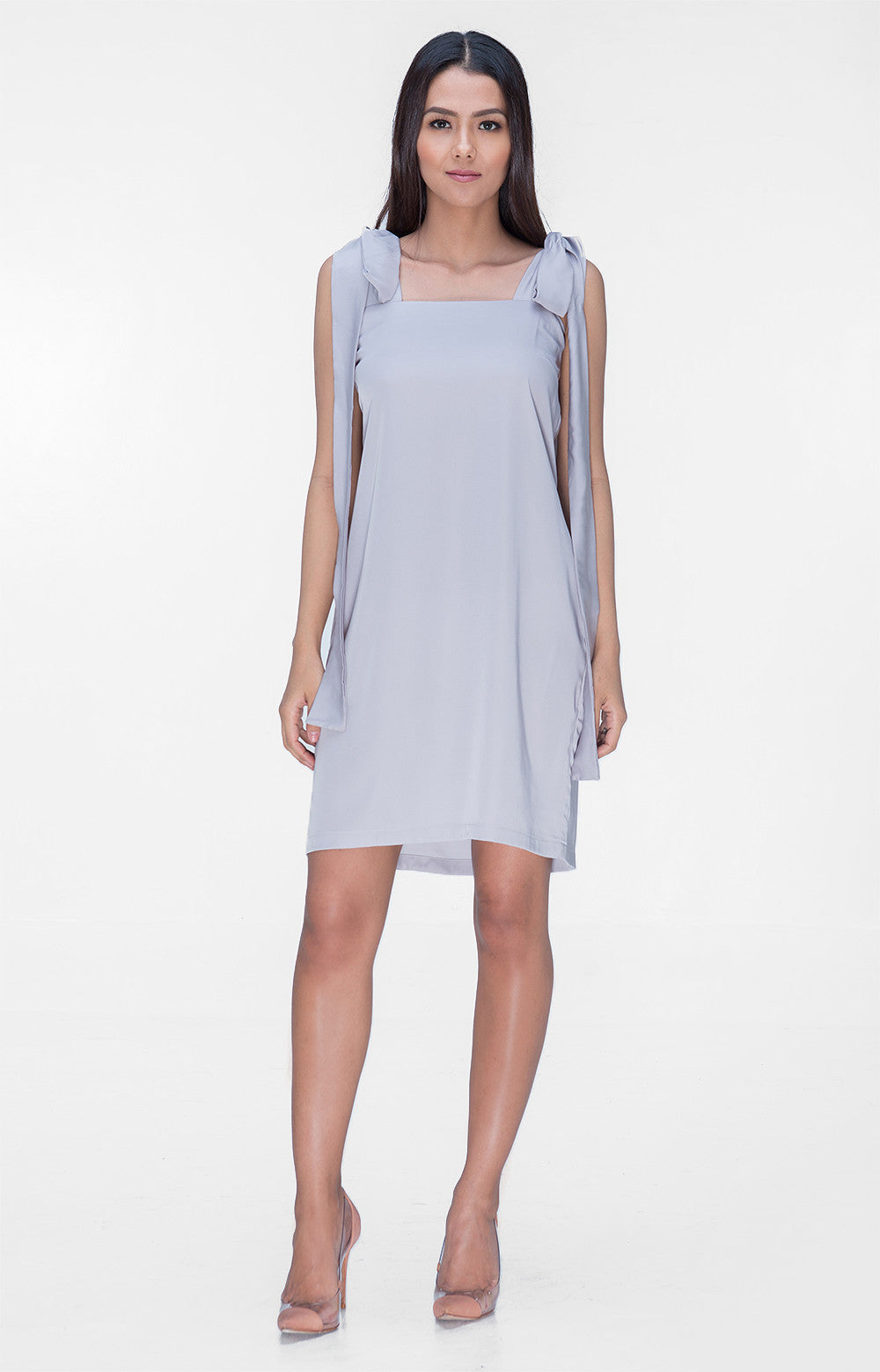 Isabella Dress- Gray
